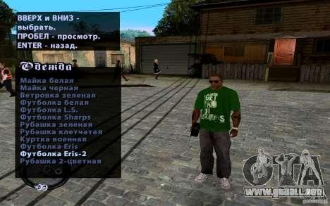 Nuevo CJ para GTA San Andreas séptima pantalla