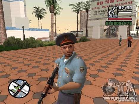 Policías para GTA San Andreas segunda pantalla