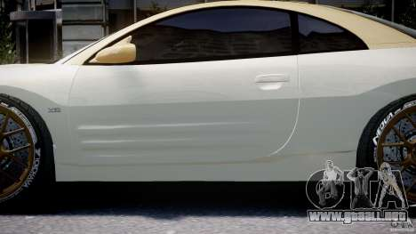 Mitsubishi Eclipse GTS Coupe para GTA 4 vista desde abajo