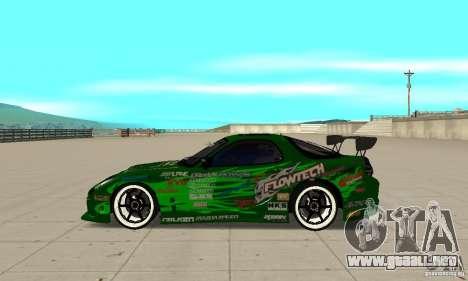 Mazda RX-7 ings para GTA San Andreas left