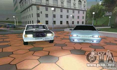 ВАЗ 21074 luz Tuning v2.0 para GTA San Andreas left