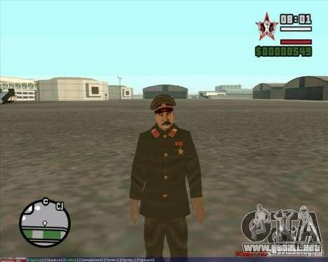 Stalin para GTA San Andreas segunda pantalla