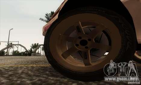 Toyota Corolla AE86 para GTA San Andreas vista hacia atrás