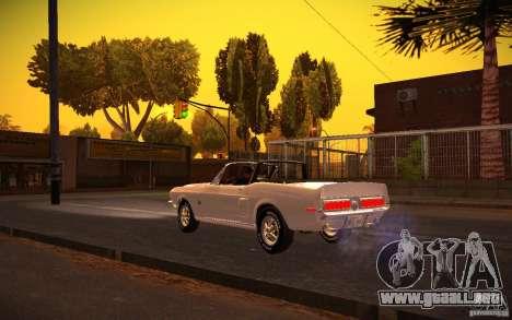 ENBSeries v1.0 por GAZelist para GTA San Andreas quinta pantalla