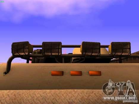 Monster Van para la vista superior GTA San Andreas