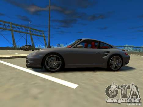 Porsche 997 Turbo para GTA 4 left