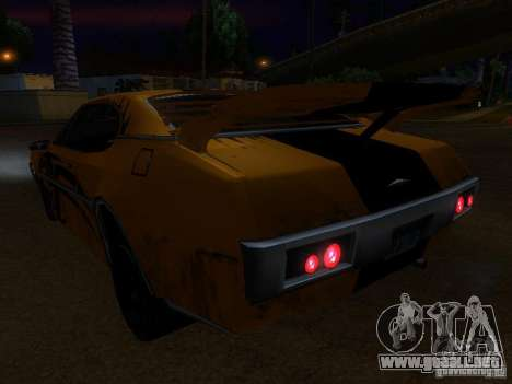 Clover Tuning para GTA San Andreas vista hacia atrás