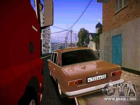 VAZ 21011 para GTA San Andreas vista posterior izquierda