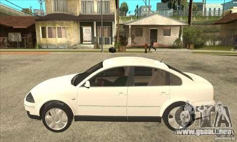 Volkswagen Passat B5+ para GTA San Andreas left