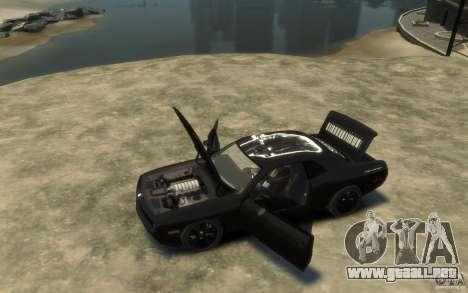 Dodge Challenger Concept Slipknot Edition para GTA 4 left