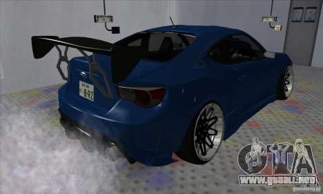 Subaru BRZ JDM para la visión correcta GTA San Andreas