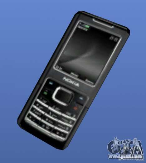 Teléfono móvil Nokia 6500 para GTA 4