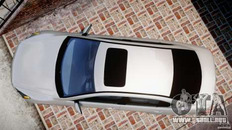 Honda Accord 2009 para GTA 4 visión correcta