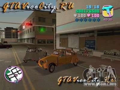 Citroen 2CV para GTA Vice City