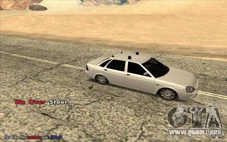 Lada Priora Final Tuning para GTA San Andreas