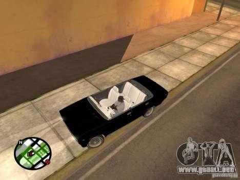 Vaz 2105 Gig v1.3 para GTA San Andreas left