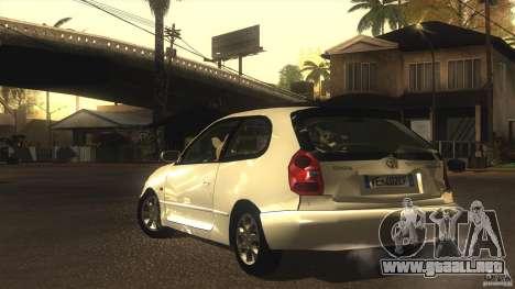 Toyota Corolla G6 Compact E110 EU para visión interna GTA San Andreas