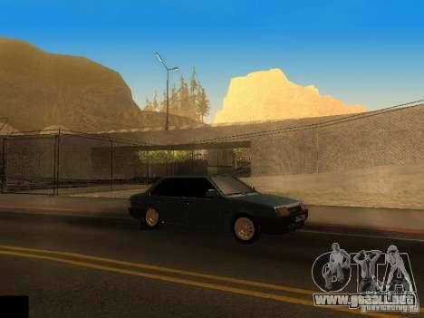 ENB project by jeka para GTA San Andreas segunda pantalla