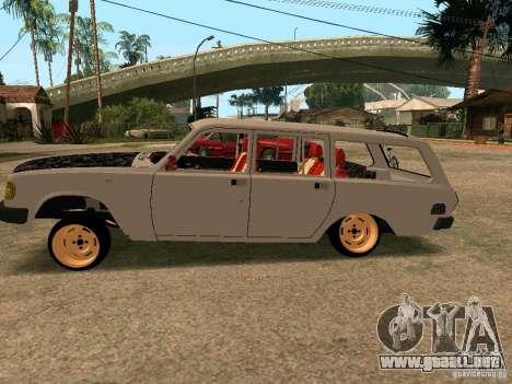 Volga GAZ 310221 para GTA San Andreas left
