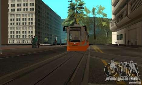 Tranvía 71-623 para GTA San Andreas left
