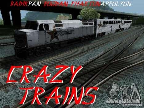 Crazy Trains MOD para GTA San Andreas