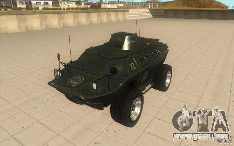 Vehículos blindados de la GTA 4 TBOGT Original c para GTA San Andreas