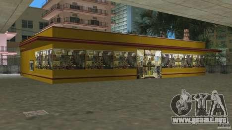 Shell Station para GTA Vice City sucesivamente de pantalla