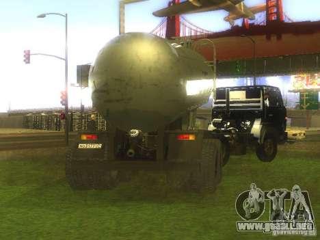 Cemento remolque TC-12 para GTA San Andreas left