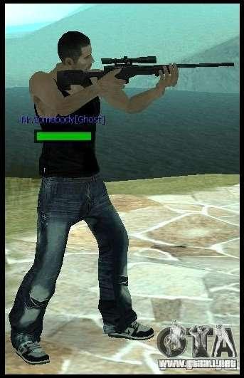 [Point Blank] L115A1 [Black] para GTA San Andreas segunda pantalla