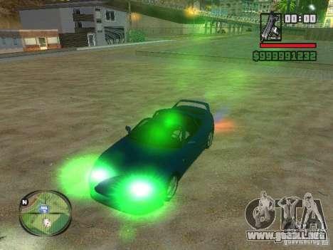 Xenon v3.0 para GTA San Andreas tercera pantalla