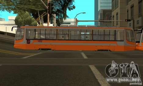 Tranvía 71-623 para la visión correcta GTA San Andreas