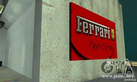 Ferrari, Lamborghini, Porsche Car Showroom para GTA San Andreas tercera pantalla