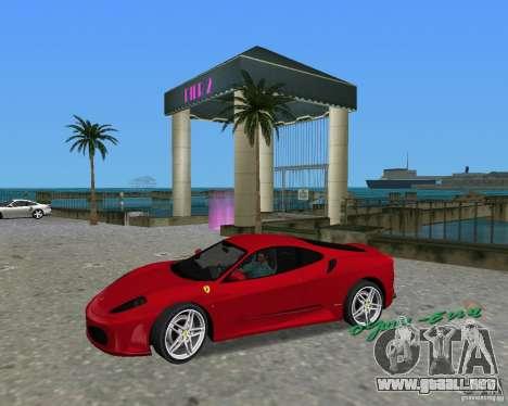 Ferrari F430 para GTA Vice City visión correcta