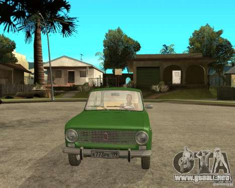 VAZ 2101 Kopek para GTA San Andreas vista hacia atrás