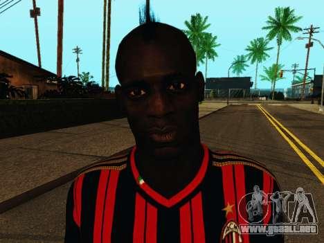 Mario Balotelli v1 para GTA San Andreas sexta pantalla