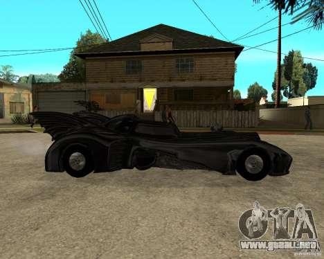 Batmobile para la visión correcta GTA San Andreas