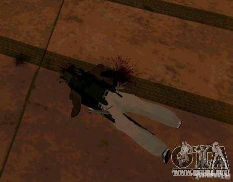 Animaciones de reclutamiento de GTA IV para GTA San Andreas sucesivamente de pantalla