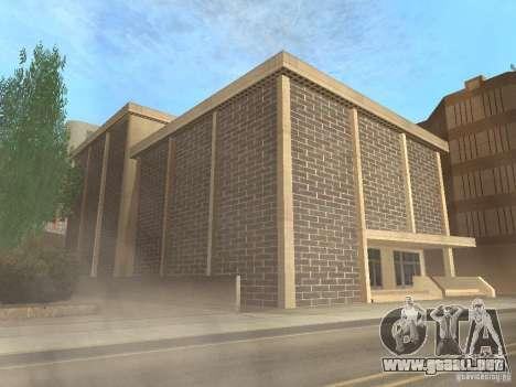 Nuevo centro de texturas Los Santos para GTA San Andreas octavo de pantalla