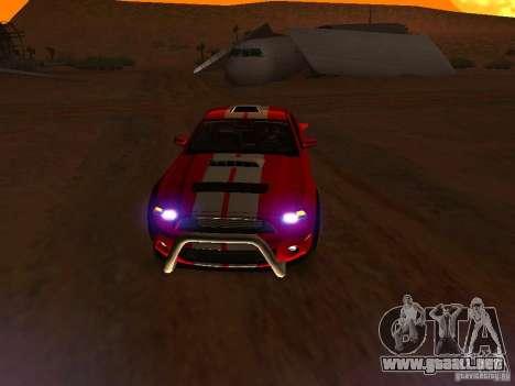 Ford Shelby GT500 para las ruedas de GTA San Andreas