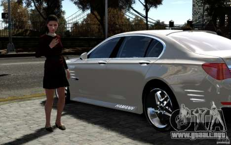 Pantallas de menú y arranque HAMANN BMW en GTA 4 para GTA San Andreas octavo de pantalla
