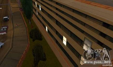 El nuevo hospital en HP para GTA San Andreas sucesivamente de pantalla