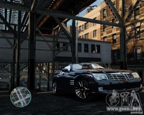2007 Chrysler Crossfire para GTA 4 left