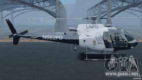 Eurocopter AS350 Ecureuil (Squirrel) para GTA 4 left