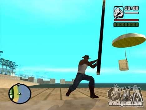 Pesca para GTA San Andreas segunda pantalla