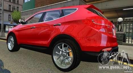 Hyundai Santa Fe Sport 2013 para GTA 4 visión correcta