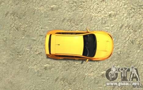 Subaru Impreza WRX STI Hatchback 2008 v.2.0 para GTA 4 vista hacia atrás
