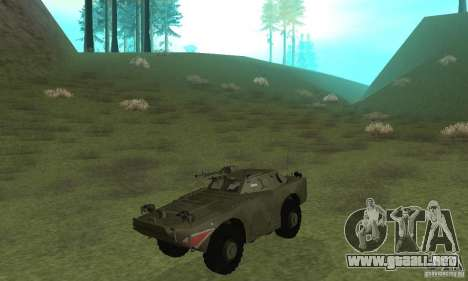 BRDM-1 piel 4 para GTA San Andreas left