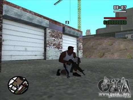 AK-74 (sin stock) para GTA San Andreas