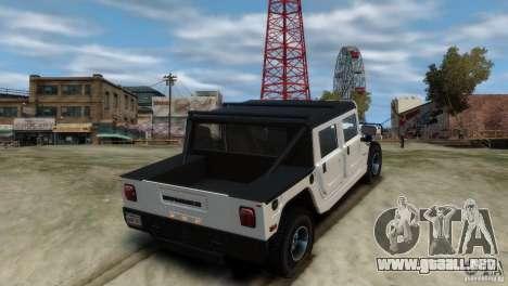 Hummer H1 para GTA 4 left