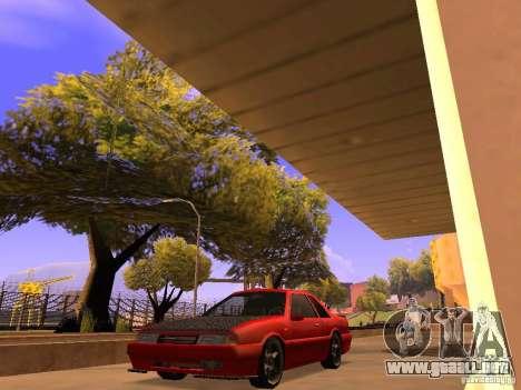 Previon GT para GTA San Andreas vista posterior izquierda